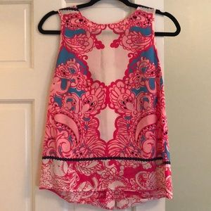 Lilly Pulitzer sleeveless blouse/tank